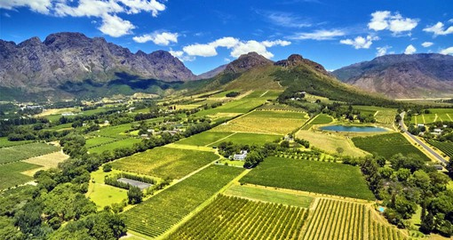 The Franschoek Valley was settled by French Huguenots over 300 years ago