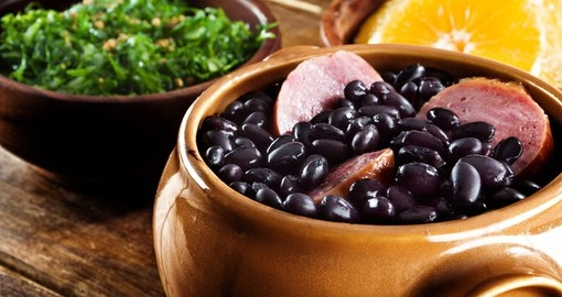 Feijoada is the traditional cuisine of Brazil