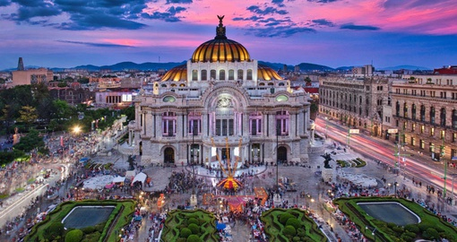 Visit sprawling Mexico City on your Mexico Vacation