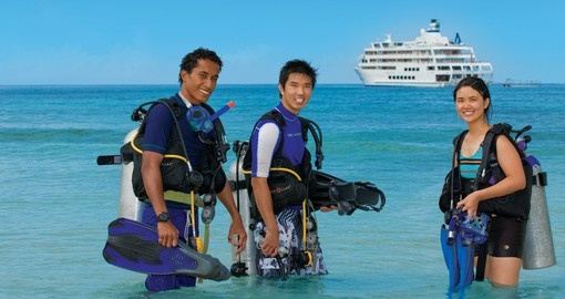 Learn to dive and explore an amazing adventure during your next Fiji Vacation.