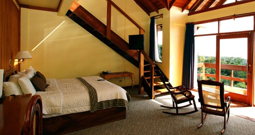Take full advantage of all the amenities of Luxurious Hotel El Establo can offer on your next trip to Costa Rica.
