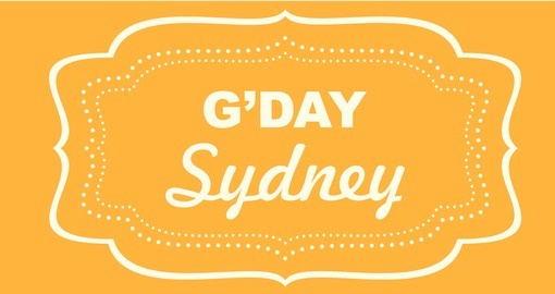 G'Day - a term you will hear virtually ever day on all Australia tours.
