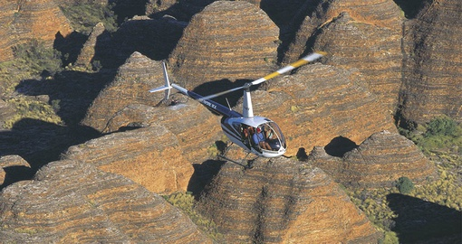 Fly over the Bungle Bungles on your Australia vacation