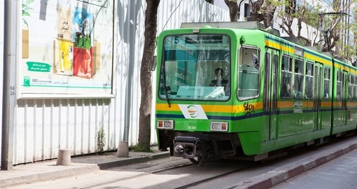 Tunis city tramway