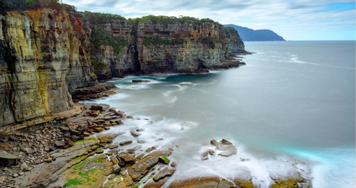 The Tasman Peninsula offers some of the best clifftop and coastal walking in the world