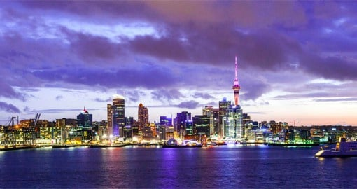 Begin you New Zealand vacation in Auckland, the country's largest city