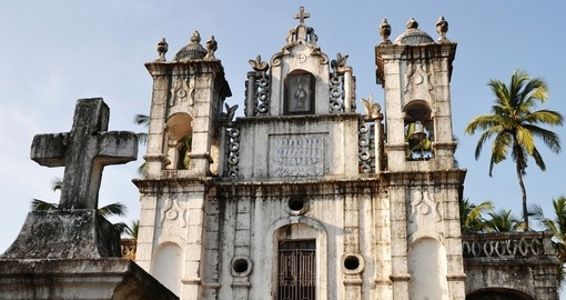 St Anthony's church in Anjuna