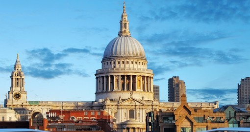 Sir Christopher Wren's masterpiece, St. Paul's Cathedral