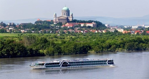 The MS Amadeus Elegant, a European cruise ship on the Danube in Hungary.
