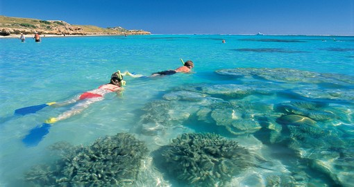 Dive and Snorkel in Muiron Islands on your next Australia Tours.