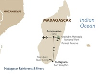 Madagascar Rainforests and Rivers