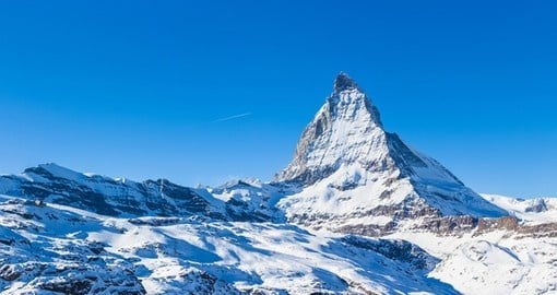 Discover Matterhorn the gorgeous mountain of the Alps on your next Switzerland tours.