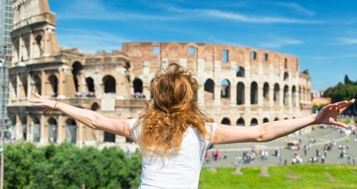 Must see place on your next Italy vacation is The Colosseum in Rome.