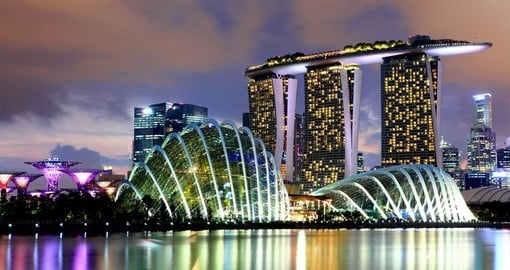 Singapore - one of the world's most breathtaking skylines is a great destination to think about when planning your Asian trip.