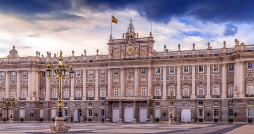 Madrid's Royal Palace was home to the Kings of Spain from Charles III to Alfonso XIII