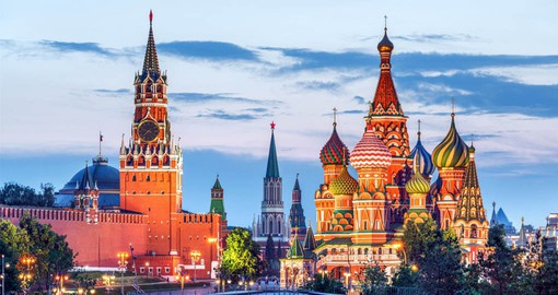 Red Square has been witness to the most important political and historic events in Russia