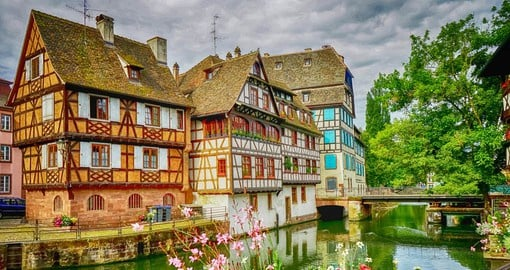 The Old Town is the most picturesque district of Strasbourg