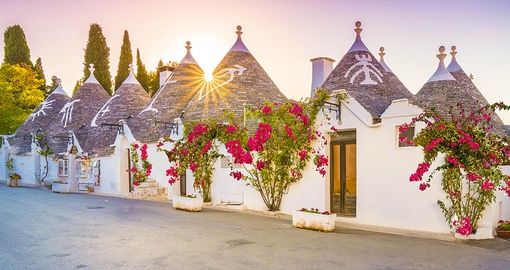 Discover the unique Trulli houses of Apulia on your Italy Tour