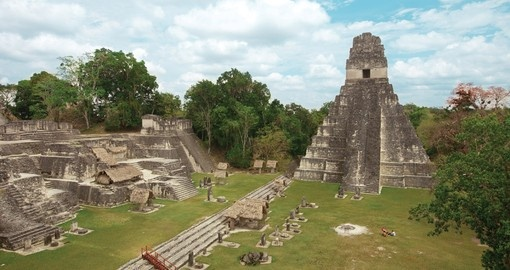 Tikal, in Guatemala is the most important Mayan archeological site
