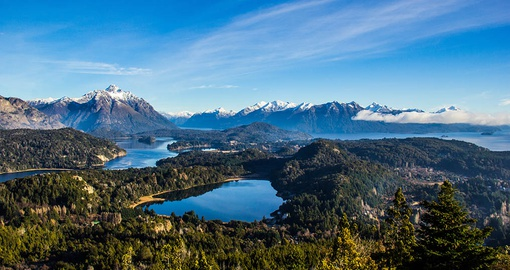View from Cerro Campanario near Bariloche
