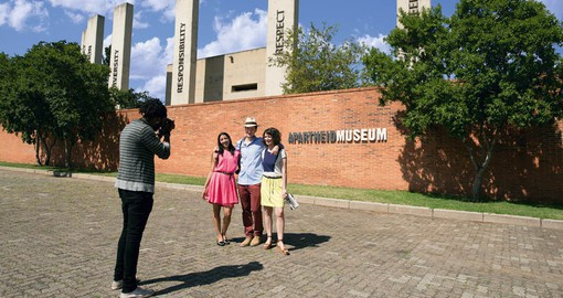 Visit the Apartheid Museum during your trip to South Africa