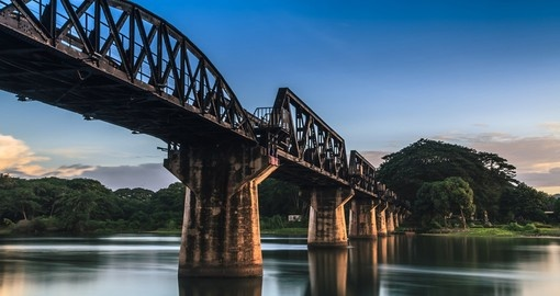 Experience the cultural and historical significance that the Bridge River Kwai has to offer on one of the many Thailand Tours