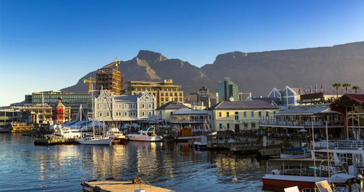 Cape Town, one of the world's most beautiful cities is crowned by the magnificent Table Mountain