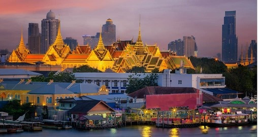The Grand Palace is included in your package to Thailand