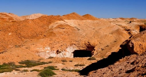 Discover Opal mines in Coober Pedy during your next Australia vacations.