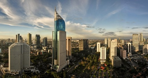 Jakarta is one of the largest cities in the world