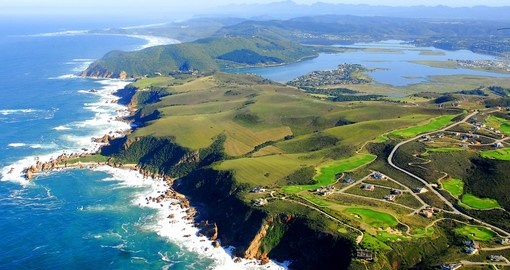 A visit to Knysna Heads is a must inclusion on all South African tours.
