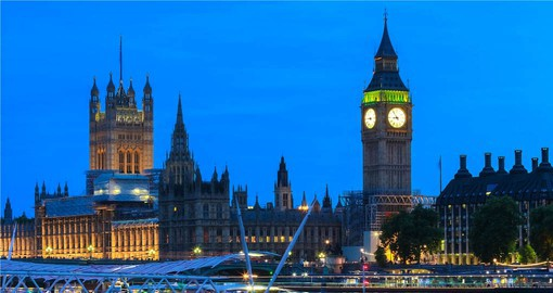 Visit The House of Parliament and Big Ben using your Hop On Hop Off Pass