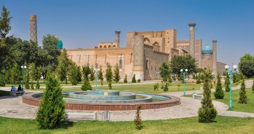 Samarkand city in Turkmenistan