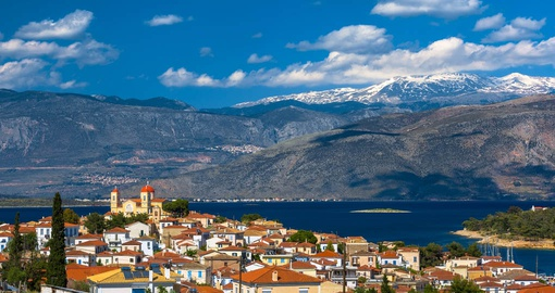 Explore the town Itea during your next Greece tours