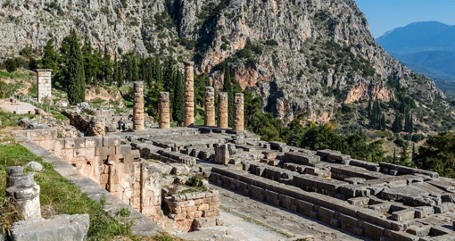 Apollo Temple Ruins, Delphi