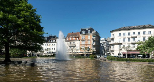 Baden-Baden's air of old-world luxury have attracted royals and celebrities