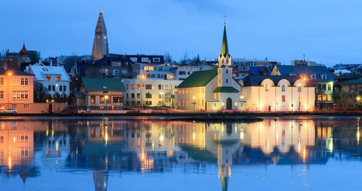 Reykjavik is the world's northernmost capital and home to two-thirds of Iceland's population