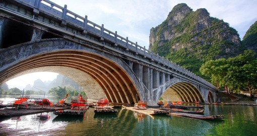 Bridge over Li River