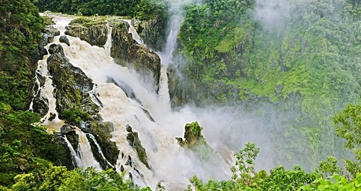 Visit the Barron Falls near Cairns during your next Australia vacations.