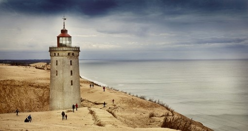 Lighthouse in Rubjerg Knude