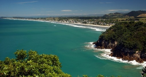 Waihi Beach is the perfect stop on your New Zealand Vacation to enjoy beautiful sites and clean waters.