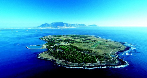 A visit to Robben Island is included in your South African vacation