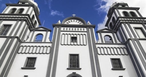 Church of Suyapa in Tegucigalpa