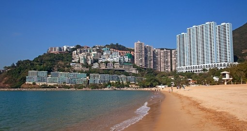 Lounge on this pristine beach and relax during your Hong Kong Vacation