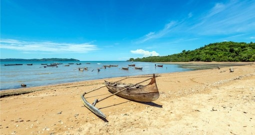 Madagascar Vacations include a visit to the pristine beaches of Nosy Be