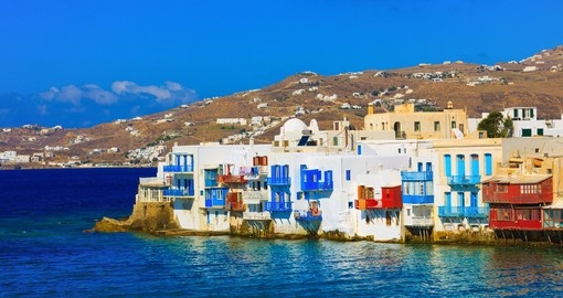Stay in Mykonos during your Greece vacation.