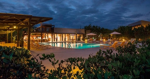 Stay at fancy Finch Bay Eco Hotel on your Ecuador Tour