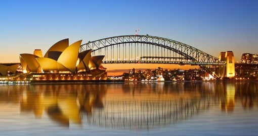 Experience Sydney Opera House Viewed from Circular Quay during your next trip to Australia.