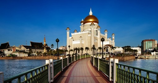 The heart of Bandar Seri Begawan - Omar Ali Saifuddien Mosque