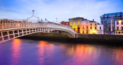 Explore Dublin as you tour Ireland